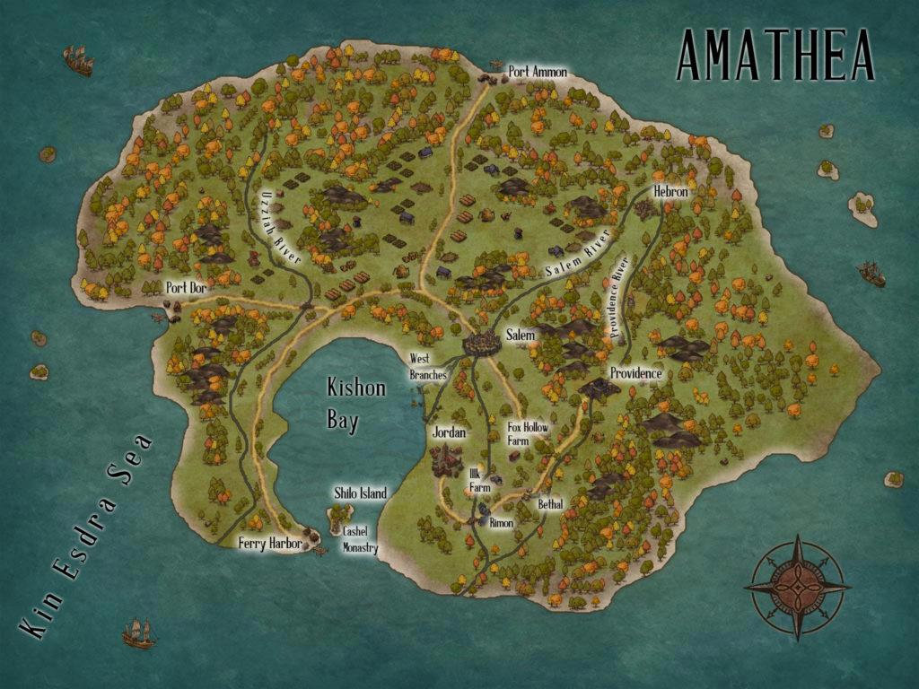 C.S. Wachter - Amathea Map