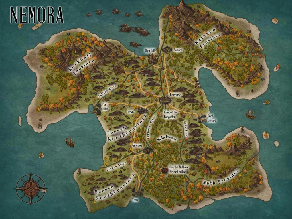 C.S. Wachter - Nemora Map