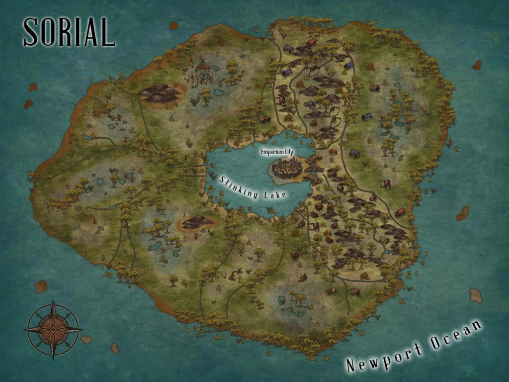 C.S. Wachter - Sorial Map