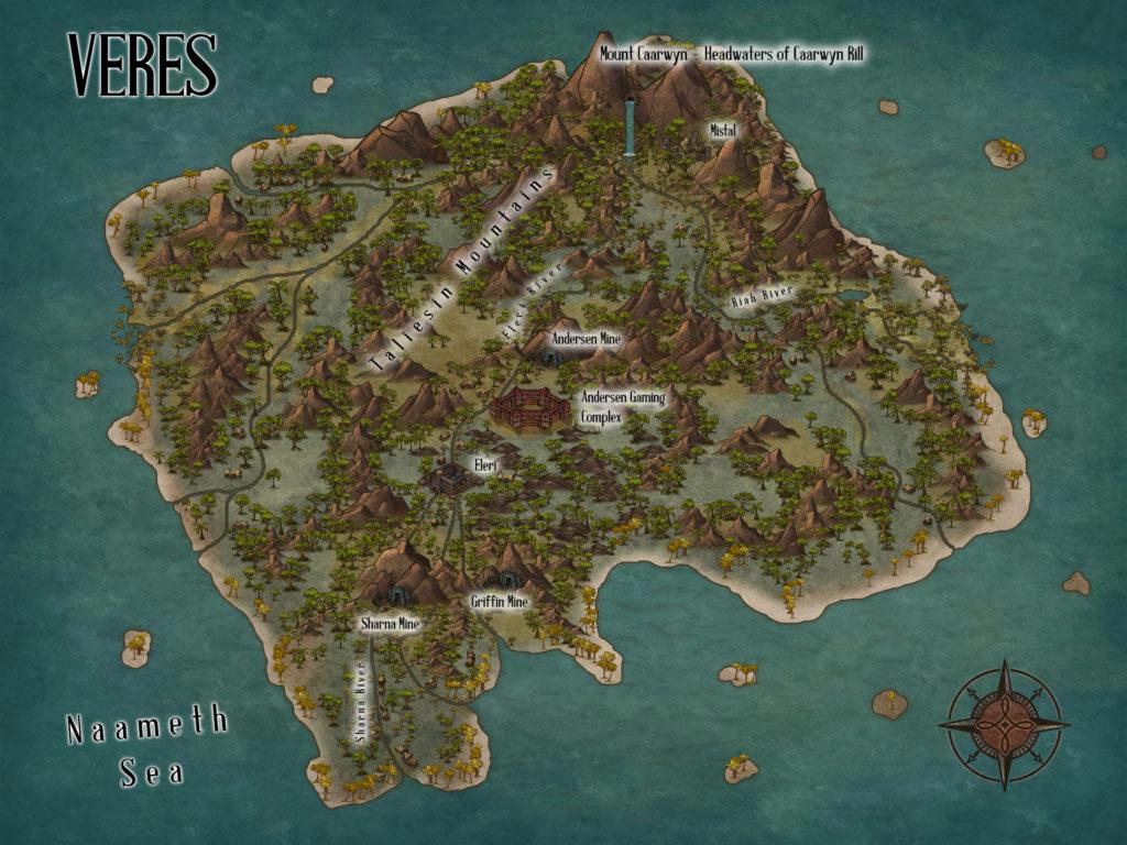 C.S. Wachter - Veres Map